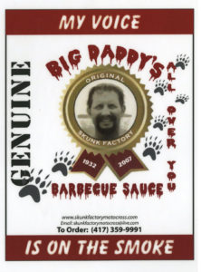 BigDaddy Barbeque sauce