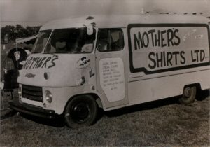 Ron Bedell 1st Sponsor Mother's Box Van